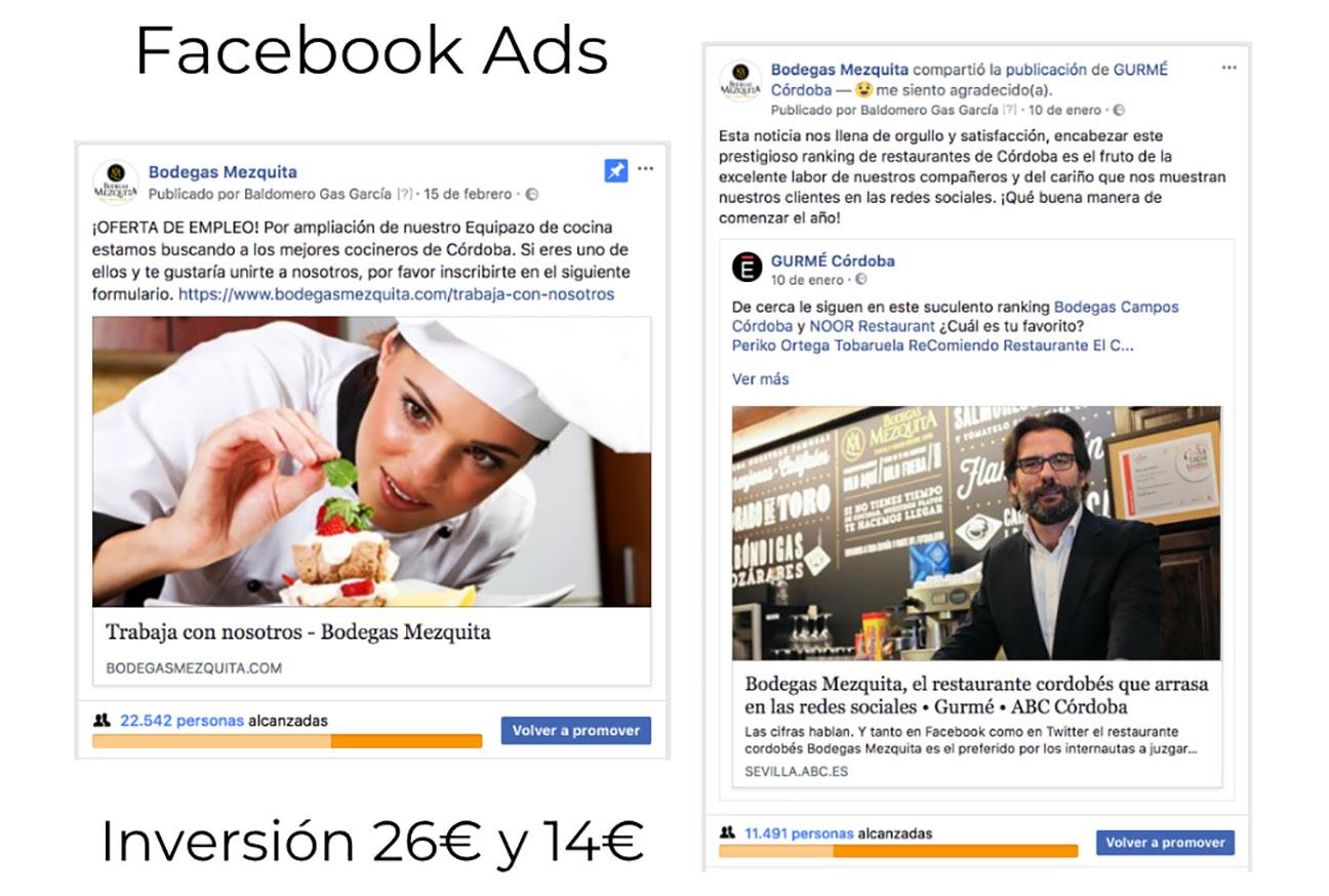 BM en Facebook