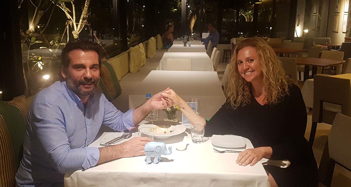 Baldomero y Sonia en DK