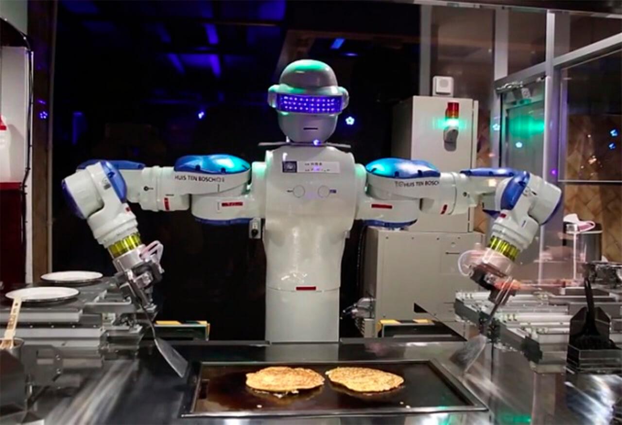 Los robots invaden la hostelería. - Método Gas