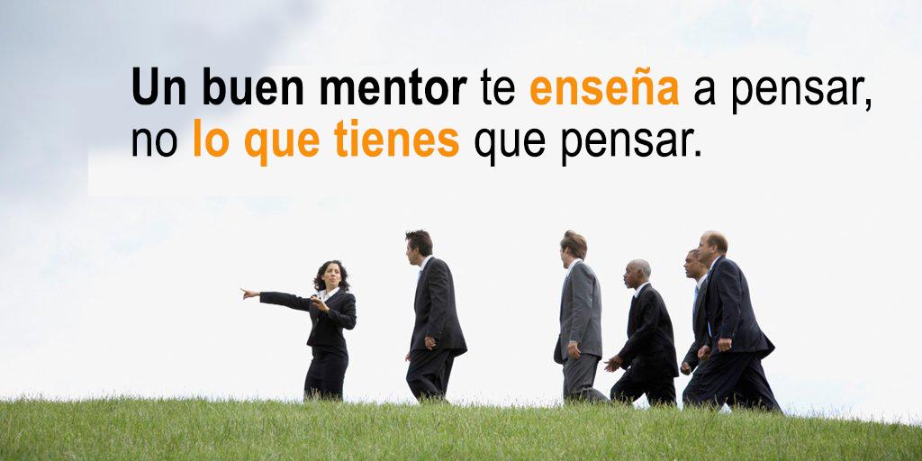 Un buen mentor es un guía