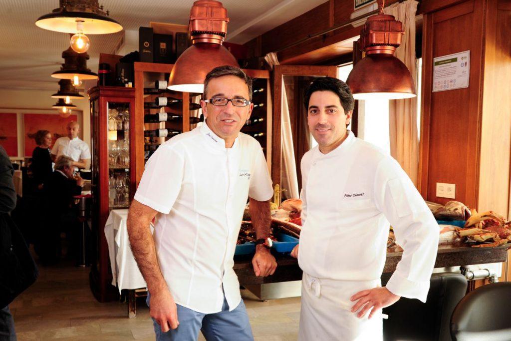 """Restaurante """"Los marinos José"""", en Fuengirola, Málaga."""