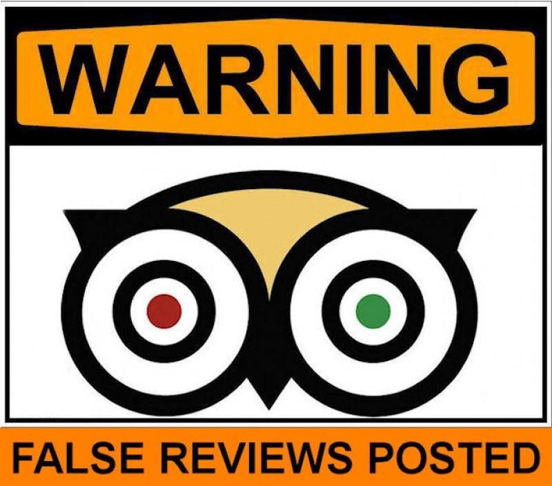 Icono de Tripadvisor, empresa que denuncia comentarios o calificaciones falsas en tu restaurante