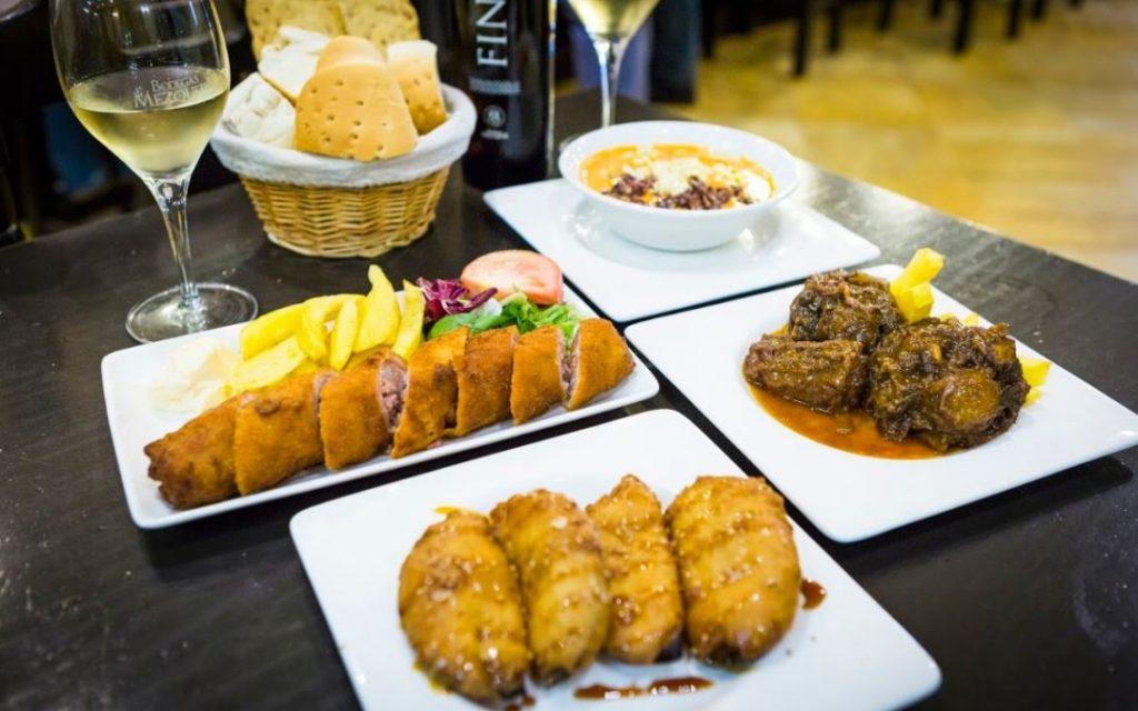 Platos más comunes del restaurante Bodegas Mezquita.