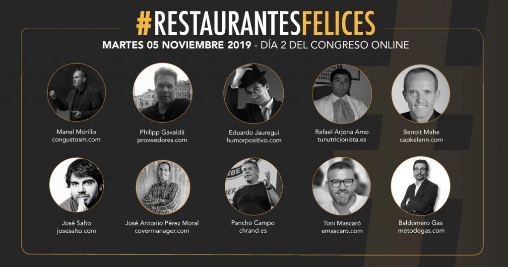 II Congreso Online #RestaurantesFelices sobre Gestión y Marketing de Restauración - Método Gas