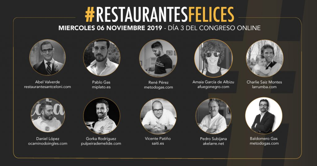 II Congreso Online de #RestaurantesFelices: Casos de Éxito - Método Gas