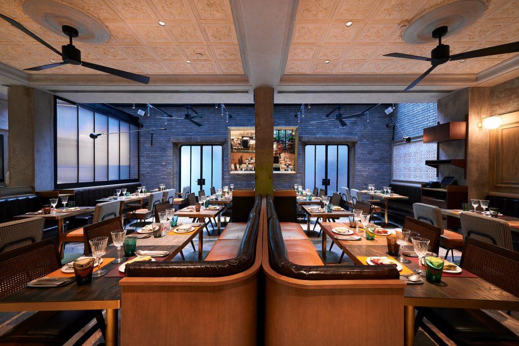 Instalaciones de Polux, el nuevo restaurante del famoso cocinero francés, Paul Pairet.