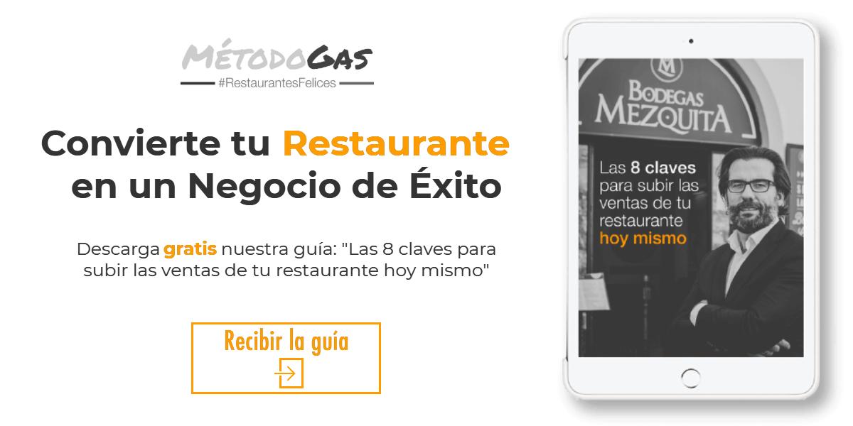 Imagen Ebook- Las 8 Claves para subir las ventas de tu restaurante hoy mismo.